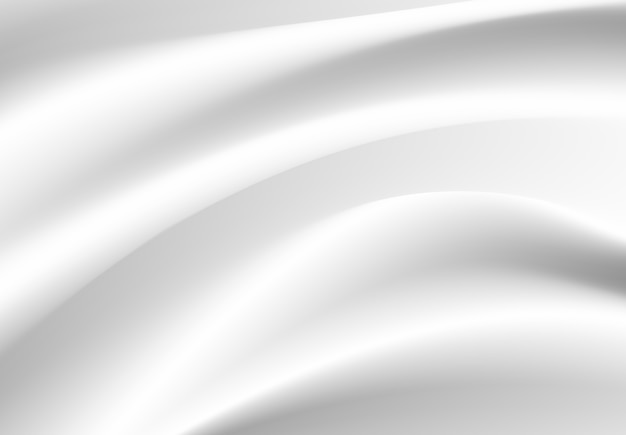 Abstrakte weiße stoffvektorunschärfe