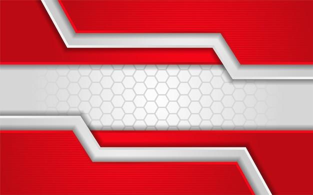 Abstrakte weiße textur mit rotem hintergrund