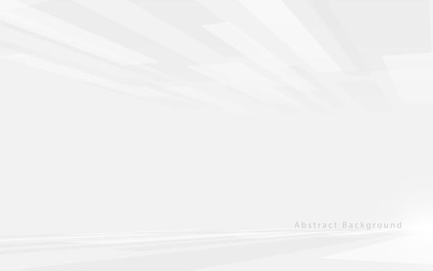 Abstrakte weiße und graue technologie hi-tech futuristisch digital. hochgeschwindigkeitsbewegung. perspektivische quadrate textur.