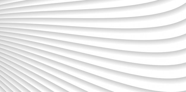 Abstrakte wellenlinien des grauen weiß kopieren hintergrund