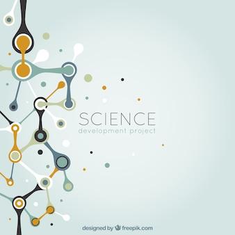 Abstrakte wissenschaft hintergrund