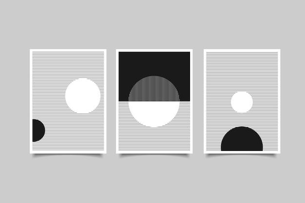 Abstrakte zeitgenössische wandkunst moderne poste