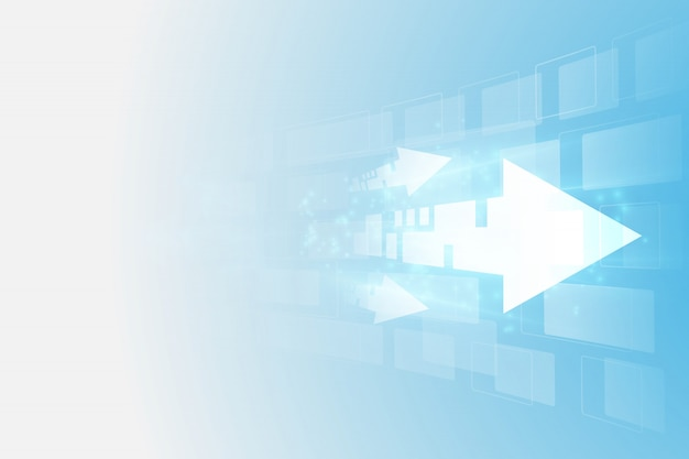 Abstrakte zukünftige digitale geschwindigkeitstechnologie