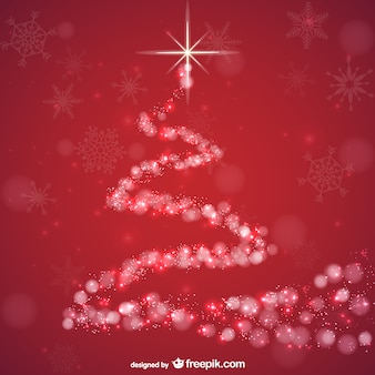 Abstrakten roten hintergrund für weihnachten