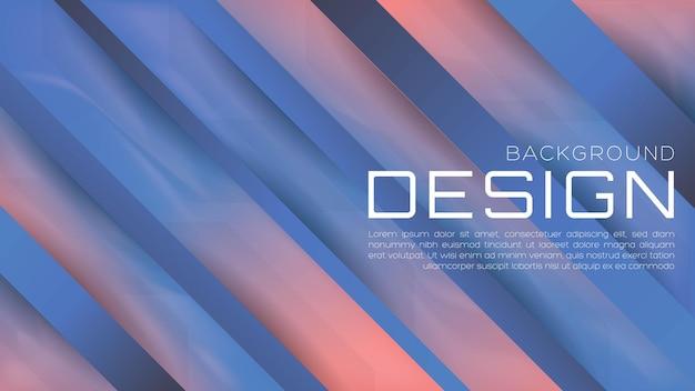 Abstrakter 3d-hintergrund mit flüssigem farbverlauf mit weicher farbe für web-landingpage und wallpaper