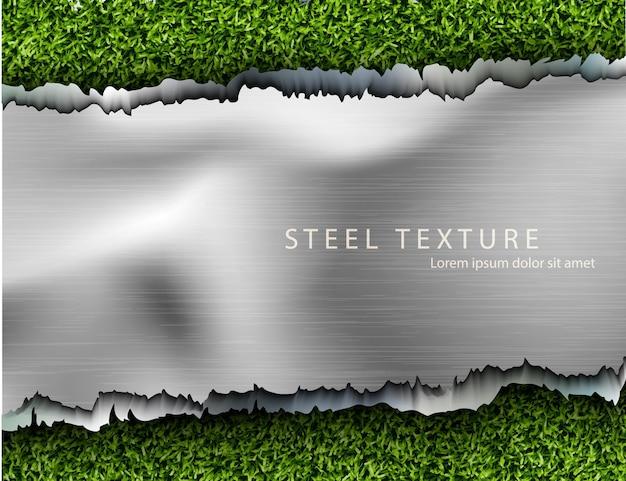 Abstrakter abstrakter metallhintergrund