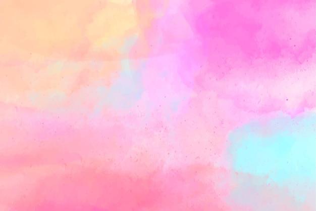 Abstrakter aquarell gemalter hintergrund Premium Vektoren