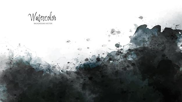 Abstrakter aquarell-spritzer-hintergrund