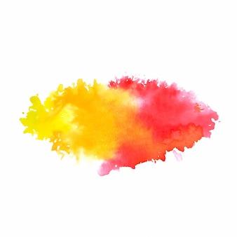 Abstrakter aquarell-spritzhintergrund
