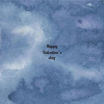 Abstrakter aquarellbeschaffenheitshintergrund des valentinstags