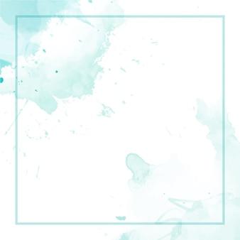 Abstrakter aquarellhintergrund mit rahmen