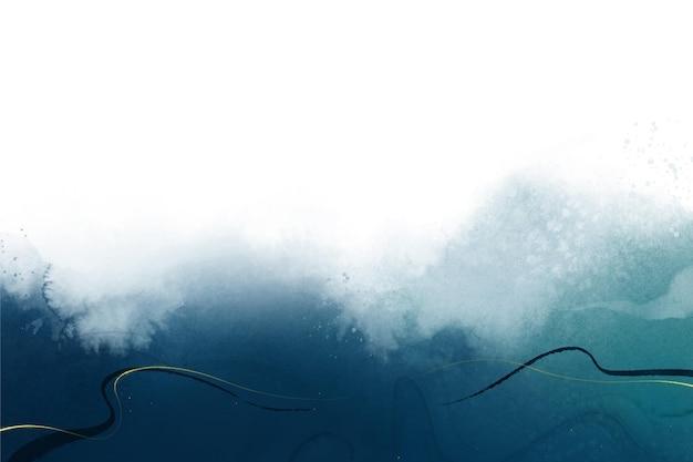 Abstrakter aquarellhintergrundentwurf