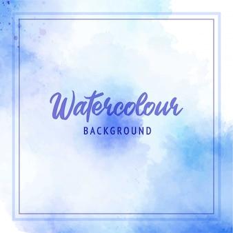 Abstrakter aquarellweicher lila blauer hintergrund