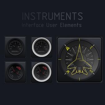 Abstrakter autotachometer