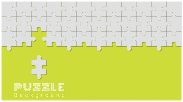 Abstrakter begriffshintergrund mit unvollständigem puzzle