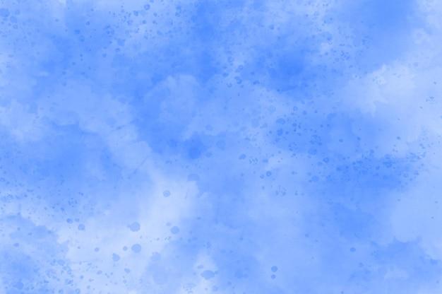 Abstrakter blauer aquarell-splatter-hintergrund