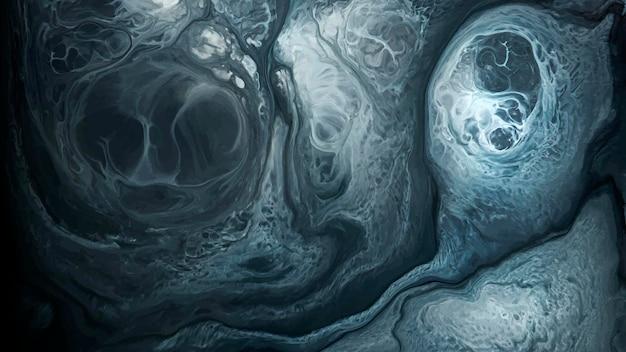 Abstrakter blauer aquarellgestaltungselementvektor