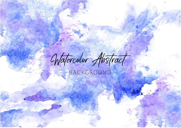 Abstrakter blauer aquarellhintergrund himmelblaue aquarellbeschaffenheit