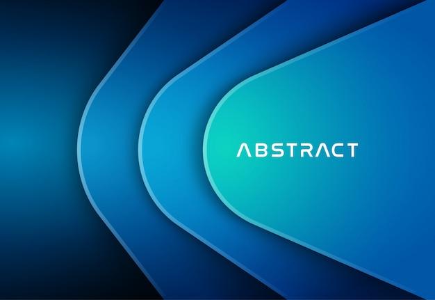 Abstrakter blauer farbhintergrund