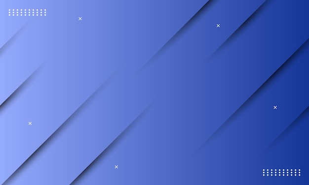 Abstrakter blauer farbverlauf mit schatteneffekt. muster für ihre anzeige, broschüren.