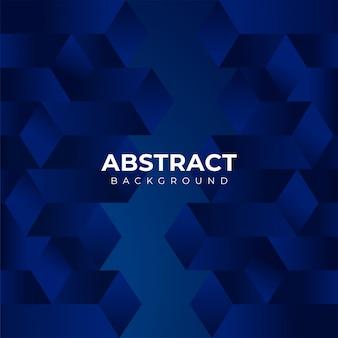 Abstrakter blauer geometrischer formhintergrund