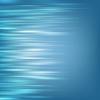 Abstrakter blauer geschwindigkeitsbewegungshintergrund. und beinhaltet auch