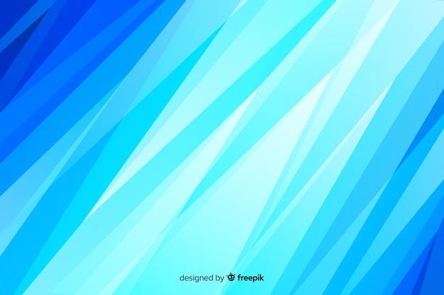 Abstrakter blauer glühender hintergrund