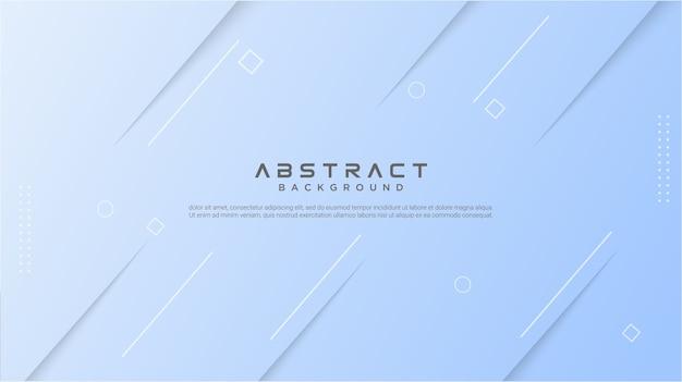 Abstrakter blauer gradientenhintergrund