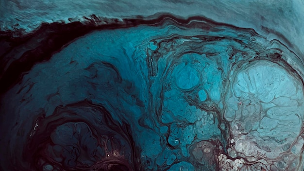 Abstrakter blauer grunge-aquarell-gemusterter hintergrundvektor