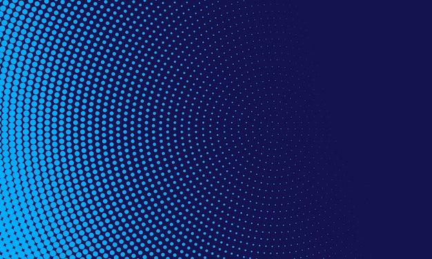 Abstrakter blauer halbtonhintergrund