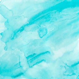 Abstrakter blauer hintergrund für designtapetenkartenfarbe hand gezeichneter aquarellflüssigkeitsfleckvektor