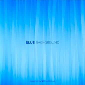 Abstrakter blauer Hintergrund mit flachem Design