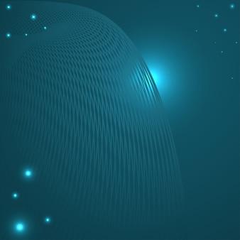 Abstrakter blauer hintergrund mit gitter