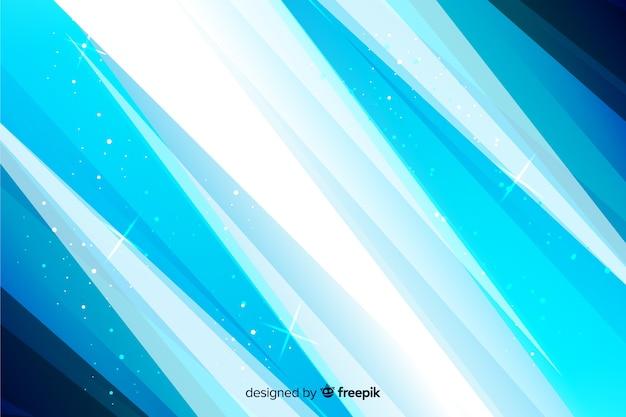 Abstrakter blauer hintergrund mit linien