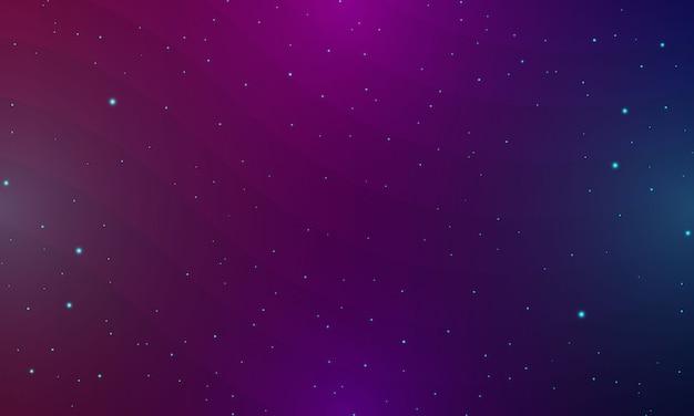 Abstrakter blauer hintergrund mit minimalem geometrischem und glühendem effekt