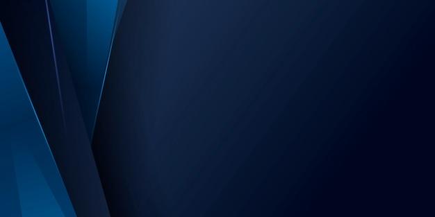 Abstrakter blauer hintergrund mit modernem technologiekonzept