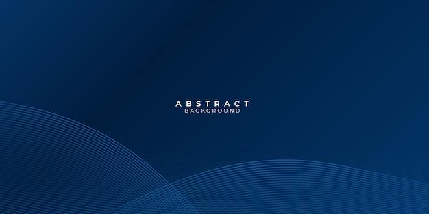 Abstrakter blauer hintergrund mit wellenwasserkreis-spirallichtbeschaffenheit