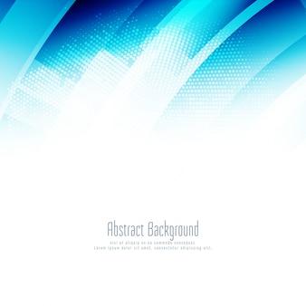 Abstrakter blauer stilvoller geometrischer hintergrund