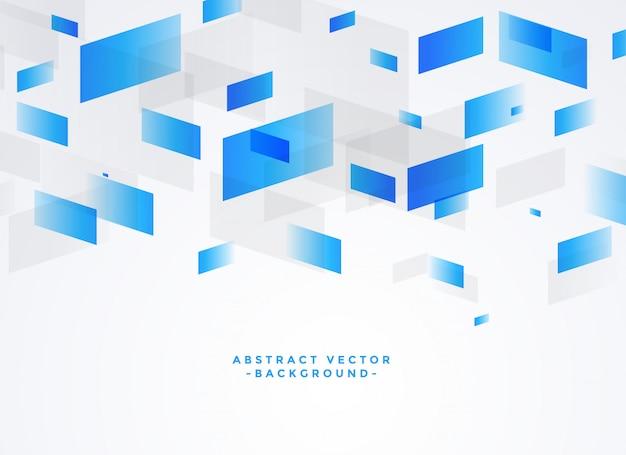 Abstrakter blauer und grauer geometrischer hintergrund