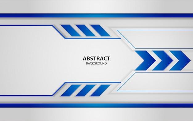 Abstrakter blauer und weißer deckungsschichthintergrund