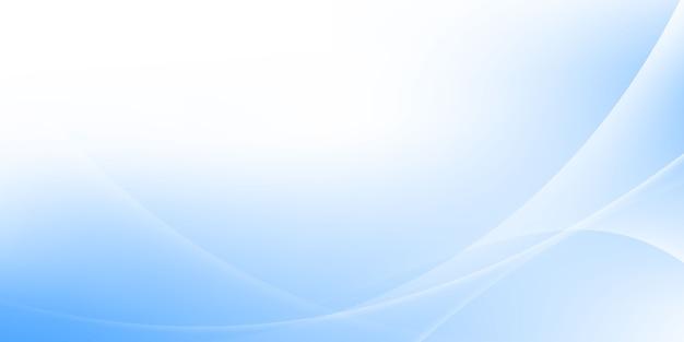 Abstrakter blauer und weißer wellenhintergrund illustrationen für vorlagen