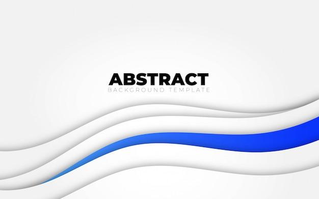 Abstrakter blauer weißer hintergrund