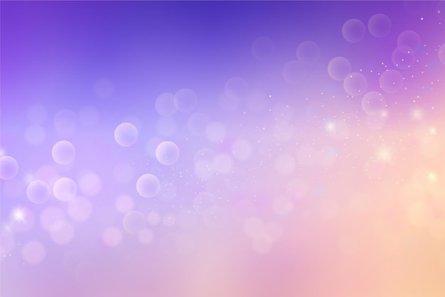 Abstrakter bokeh-gradientenhintergrund