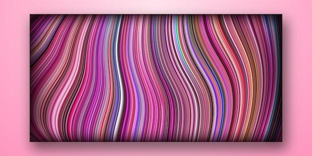 Abstrakter bunter geometrischer hintergrund mit trendgradient und fließender formzusammensetzung