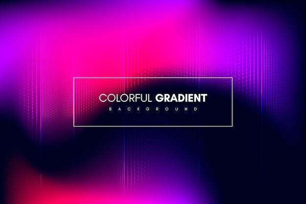 Abstrakter bunter gradienter hintergrund mit streifen
