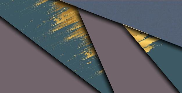 Abstrakter bunter hintergrund mit modernem geometrischem stil