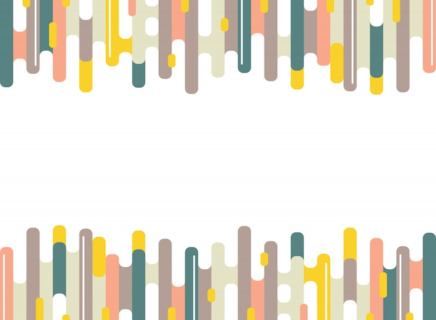 Abstrakter bunter strichstreifen zeichnet muster des minimalen hintergrundes.