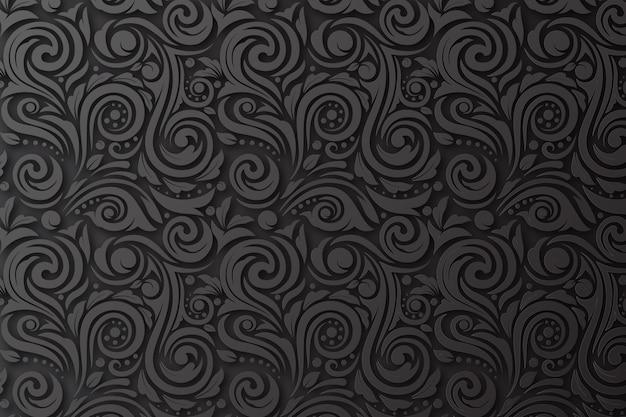 Abstrakter dekorativer blumenhintergrund