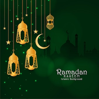Abstrakter dekorativer hintergrund des eid mubarak festivals