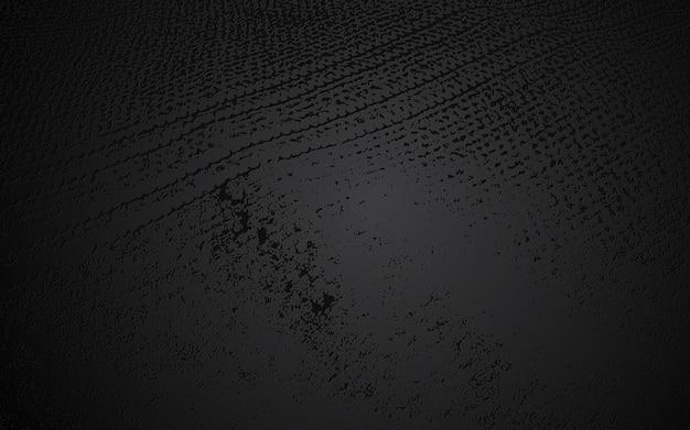 Abstrakter dekorativer wandhintergrund des schwarzen schmutzes